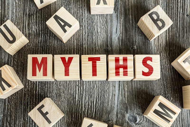 myths on blocks