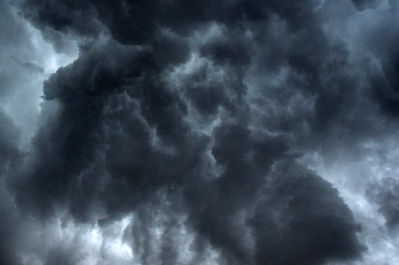How to Prepare for a Power Outage Caused by a Storm storm clouds
