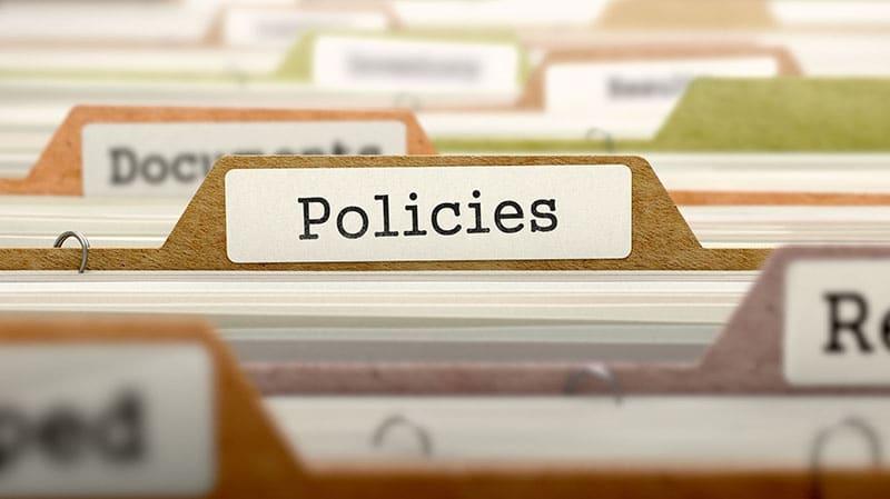 a policies folder