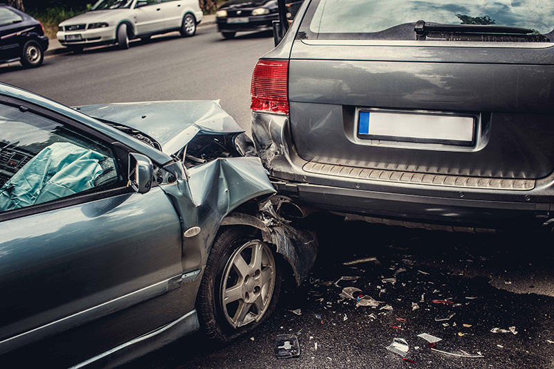 a motor accident